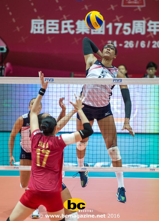 USA beat China in the FIVB Volleyball World Grand Prix Hong Kong 2016