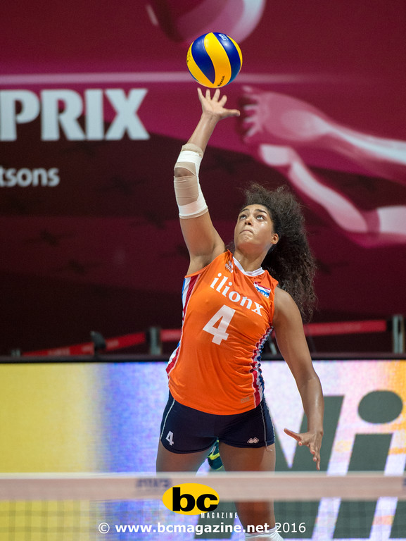 The Netherlands beat Germany in th FIVB Volleyball World Grand Prix Hong Kong 2016