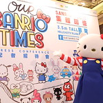 Hello Kitty at Our Sanrio Times Press conference